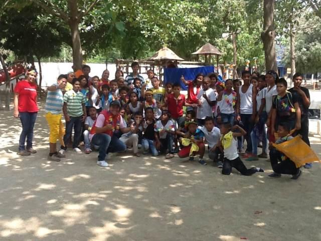 Jornada de integración en Santa Marta