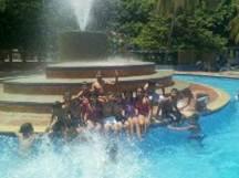 Actividad recreativa con el grupo de capoeira en Valledupar